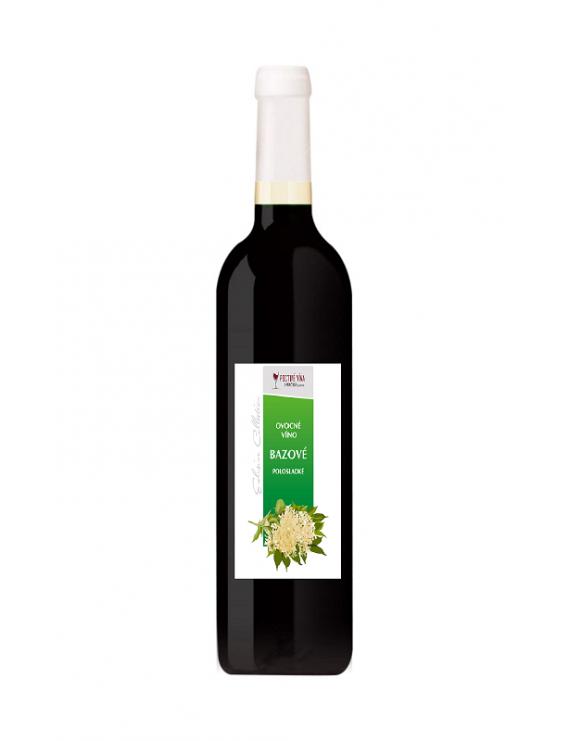 Hučko - Bazové víno 2018 0.75l