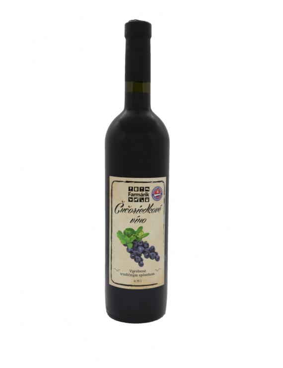 Farmárik - Čučoriedkové víno 0.75l