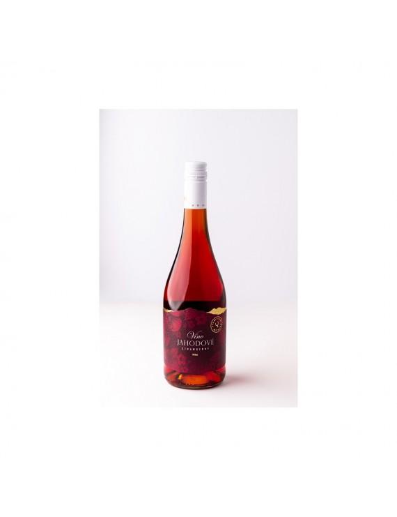 Miluron - Jahodové víno 0,75 l