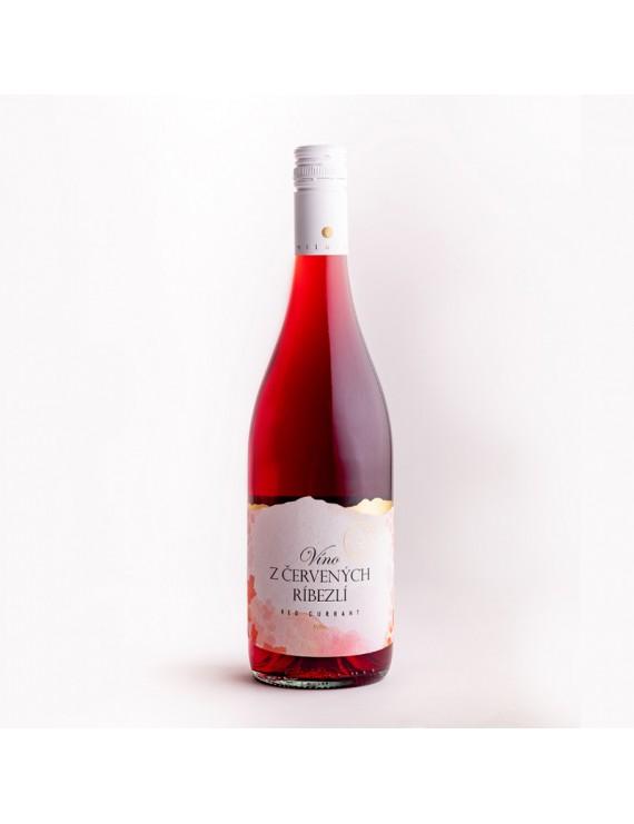 Miluron - Víno z červených ríbezlí 0,75l