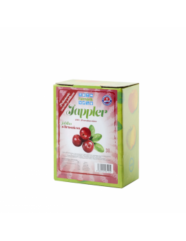 Farmárik - Jablčná šťava s brusnicou - 3 L