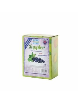 Farmárik - Jablčná šťava s čučoriedkou- 3 L