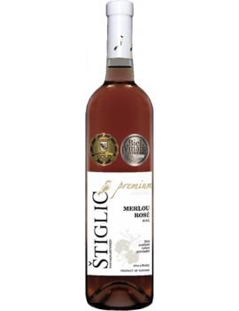 Štiglic - Merlou rosé 2017 0.75l
