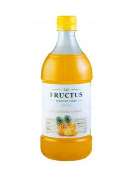 Fructus sirup s príchuťou ananás bez umelých sladidiel a farbív 700 ml