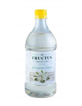 Fructus sirup s príchuťou bazový kvet bez umelých sladidiel a farbív 700 ml