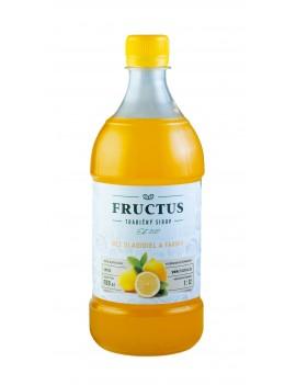 Fructus sirup s príchuťou citrón bez umelých sladidiel a farbív 700 ml