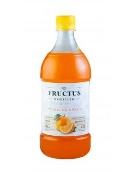 Fructus sirup s príchuťou pomaranč bez umelých sladidiel a farbív 700 ml